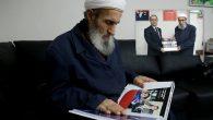AA Sakarya Bölge Müdürü,Hoca Asım Safitürk'ü  Arifiye'de ziyaret etti