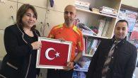İl Milli Eğitim Müdürü Töre'den Fedakar Öğretmene Tebrik Ziyareti