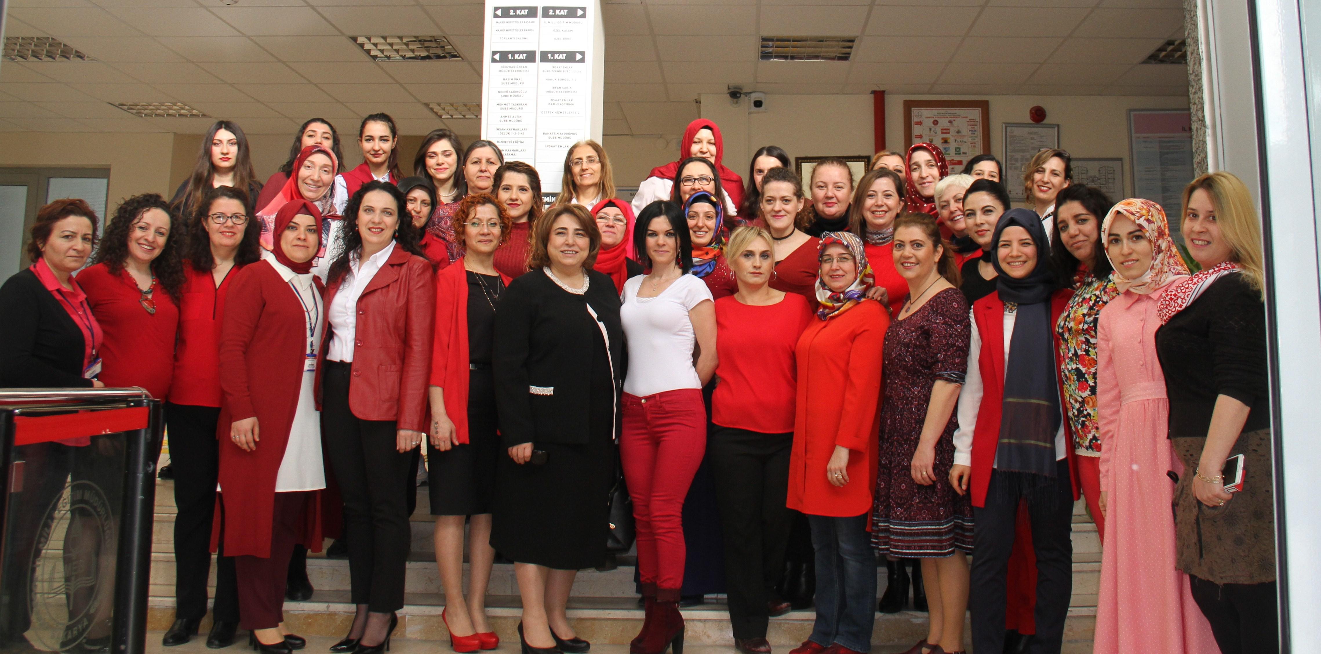 İl Milli Eğitimde Kadınlar Günü