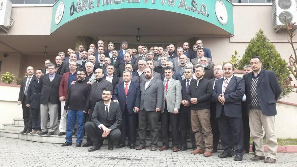 TÜRKOĞLU'NA KARABÜK'TE VEDA YEMEĞİ