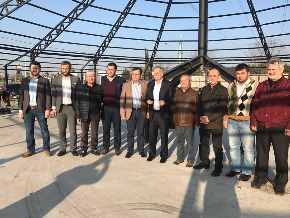 Milletvekili Mustafa İSEN'den SYKD Otağı Çadırı İnşasına Ziyaret