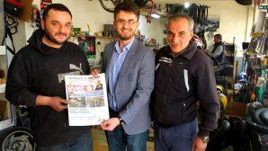 Ak Gençlikten Arifiye Esnafına 'EVET' Gazetesi