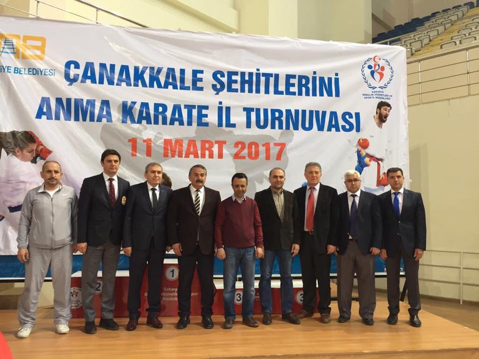 Çanakkale Şehitlerini Anma Karate Turnuvası Yapıldı