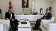 Kaymakam Yazıcı'dan SKHB Genel Sekreterine ziyaret