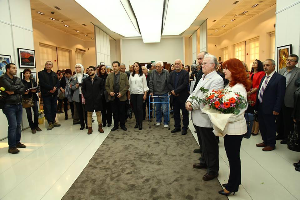 Resim ve fotoğraf sergisi Galeri'de