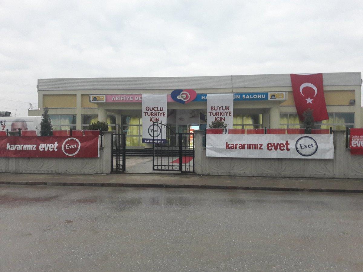 Arifiye Dışişleri Bakanı Çavuşoğlu'nu karşılamaya hazır