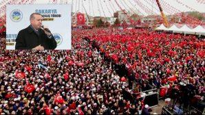 Cumhurbaşkanı Recep Tayyip Erdoğan Sakarya'da