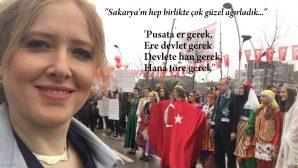 'SAKARYA'M HEP BİRLİKTE ÇOK GÜZEL AĞIRLADIK'