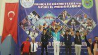 Arifiyeli Sporcular Okullar arası yarı final müsabakalarında şov yaptı.