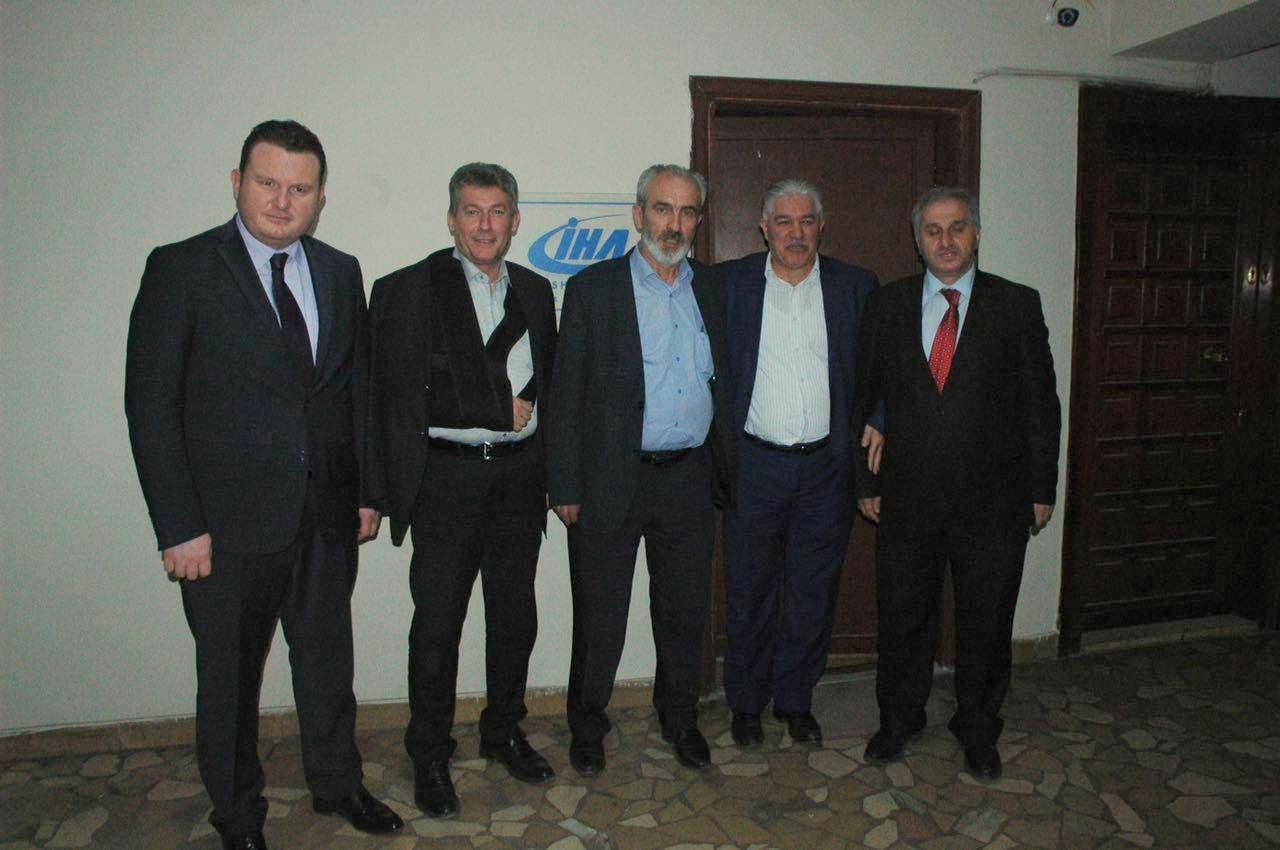 MHP Sakarya Teşkilatından İHA'ya ziyaret