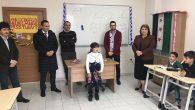 Töre'den Karaman Geçici Eğitim Merkezi'ne ziyaret