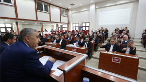 Büyükşehir Belediye Mart Ayı Olağan Meclis Toplantısı yapıldı