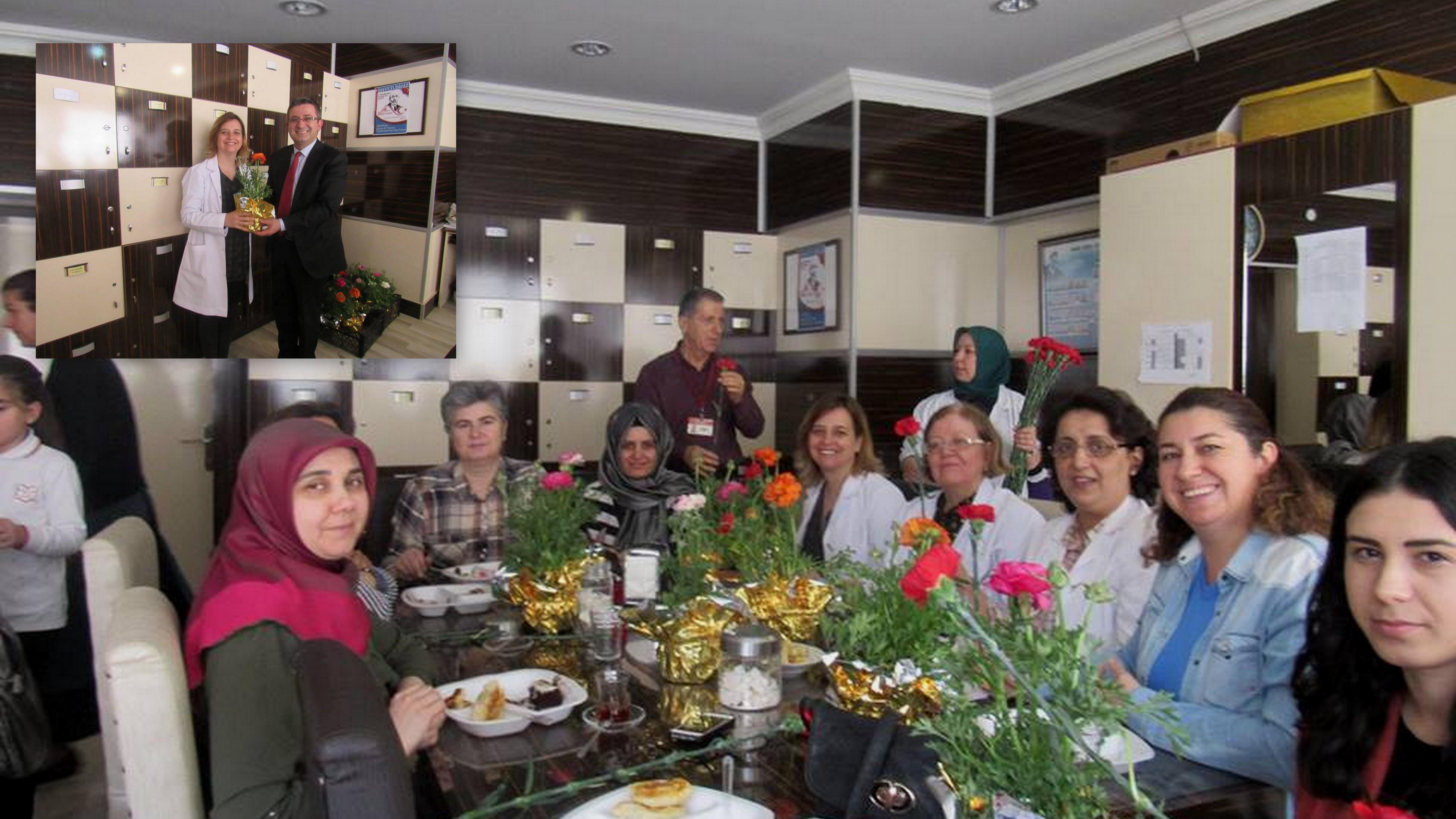 Arifiye Bekir Sıtkı Durgun'da Kadınlar Günü Kutlaması