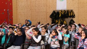 Macera Park'ta deprem eğitimi