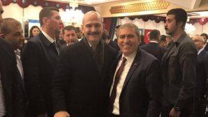 SASKF Başkanı Yaşar Zımba,Bakan Süleyman Soylu ile buluştu