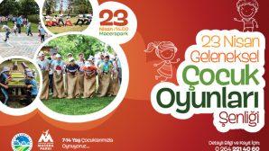 Macera Park'ta Çocuk Oyunları Şenliği