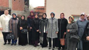 Ak Parti Kadın Kolları Başkanı Çam,Arifiye Ak Kadınlar ile
