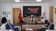 Adem Yazıcı,Aile ve Sosyal Politikalar İl Müdürünü ziyaret etti