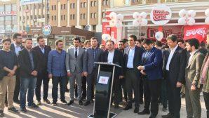 AK Parti Gençlik Kolları Genel Başkanı Melih Ecertaş, Sakarya'ya geldi.