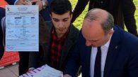 Arifiye'li Recep Tayyip Erdoğan'da Ak Partili Oldu