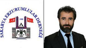 Sakarya Erzurumlular Derneği Yeni Başkanı Akif Akyürek oldu