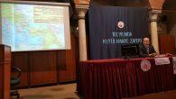 """Arifiye Mezunu Türkmen Hocanın """"Kutülamare Zaferi"""" konferansı gerçekleşti"""