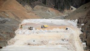 Akçay Barajının gövdesi 30 metreye yükseldi