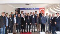 MÜSİAD'tan TÜMSİAD'a ziyaret
