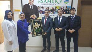 Kaymakam Adem Yazıcı'dan Halk Eğitim ve SAMEK Kurslarına Ziyaret.