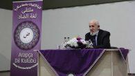 Prof. Dr. Cevat Akşit İlahiyat Fakültesinde Konferans Verdi