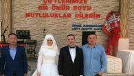 Düğünü Arifiye'de yaptı