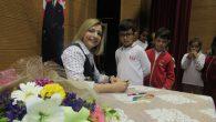 Yazar Birsen Ekin Özen Arifiye Bekir Sıtkı Durgun'da öğrenciler ile buluştu