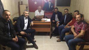 Arifiye MHP'den Ahmediye Muhtarına ziyaret