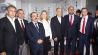 SAGİF' TE TÜMSİAD Standına protokol mensuplarından büyük ilgi