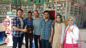 Dünya Eczacılık Gününde Arifiye Eczanesine ziyaret