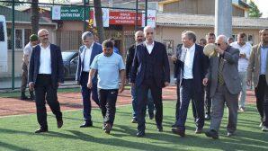 SASKF Türk-iş Genel Başkanı Ergün Atalay'ı konuk etti