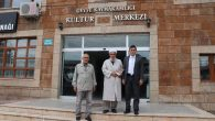 Asım Safitürk Hoca Geyve Kaymakamını ziyaret etti