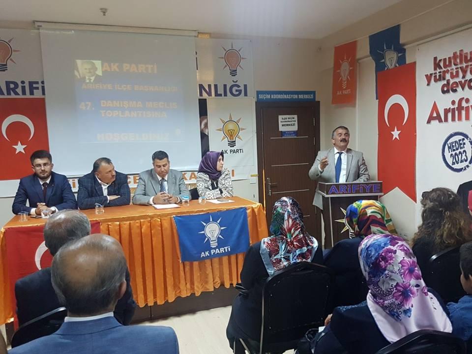 Ak Parti Arifiye 47.İlçe Danışma Meclisi toplandı