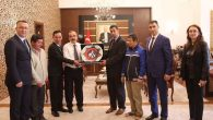 """Arifiye'den Vali Coş'a """"Engelliler Haftası"""" Ziyareti"""
