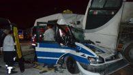 Arifiye'de bulunan Sakarya Büyükşehir Terminalinde görünmez kaza