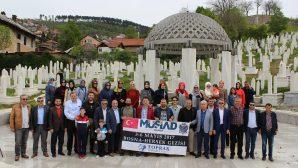 Sakarya MÜSİAD Bosna'da duygulu anlar yaşadı