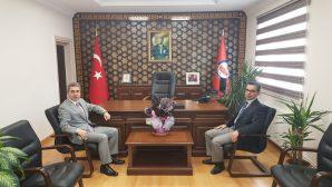 Cumhuriyet Başsavcısı Mehmet Özel'den İade-i Ziyaret.