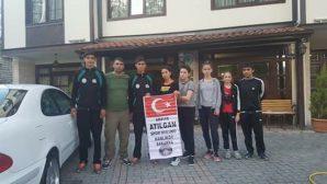 Arifiye Atılganspor Kulübü Sporcuları Karabük'te