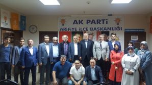 Milletvekili Mustafa İsen'den teşekkür ziyareti