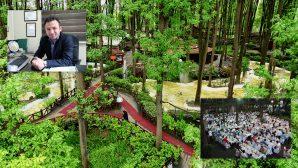 İftar sofraları Ormanpark'ta kuruluyor
