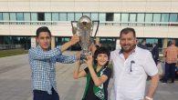 Sakaryaspor Yöneticisi Mükerrem Koç'un Şampiyonluk Sevinci