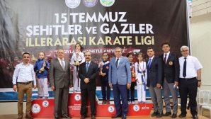 15 Temmuz Şehit ve Gaziler İllerarası Karate Ligi Finali