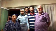 Çat kapı ziyareti Neviye Mahallesinden Ethem amcaya