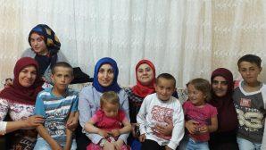 Arifiye Kadın Kolları 'Demir' ailesi ile iftar açtı