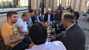 Ramazan Bayram Namazı sonrası birlikte kahvaltı yaptılar